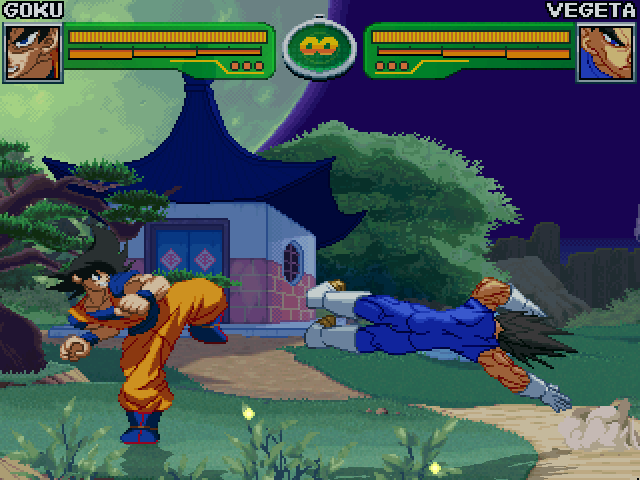DBZ Goku's House - Night stage