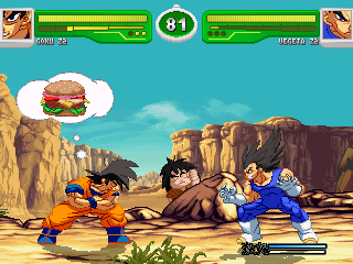 hyper dragon ball z: