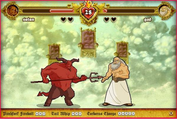 Mugen Fighters Guild Character Wiki : Bible Fight